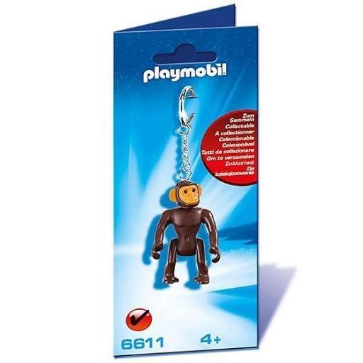 PLAYMOBIL 6611 LLAVERO CHIMPANCE MONO