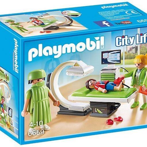 PLAYMOBIL 6659 SALA DE RAYOS X