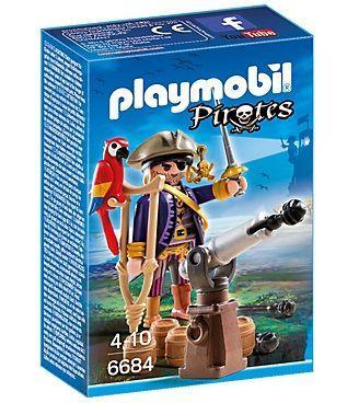 PLAYMOBIL 6684 CAPITAN PIRATA
