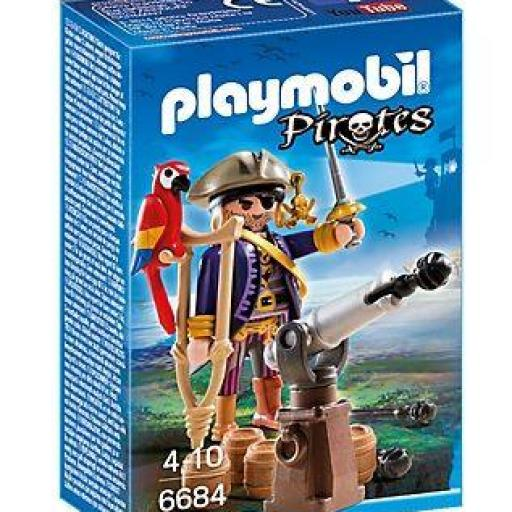 PLAYMOBIL 6684 CAPITAN PIRATA