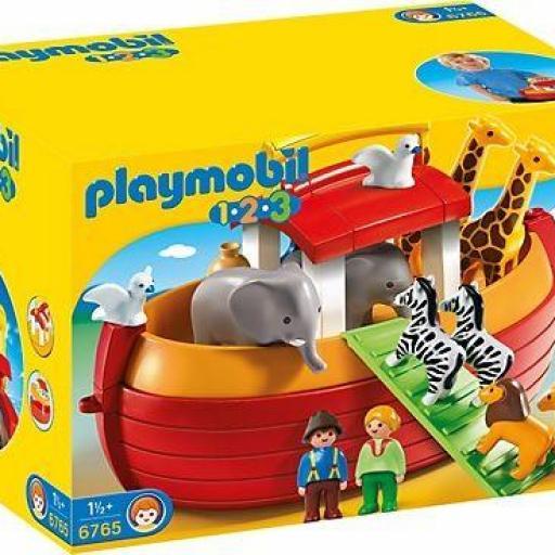 PLAYMOBIL 6765 ARCA DE NOE MALETIN
