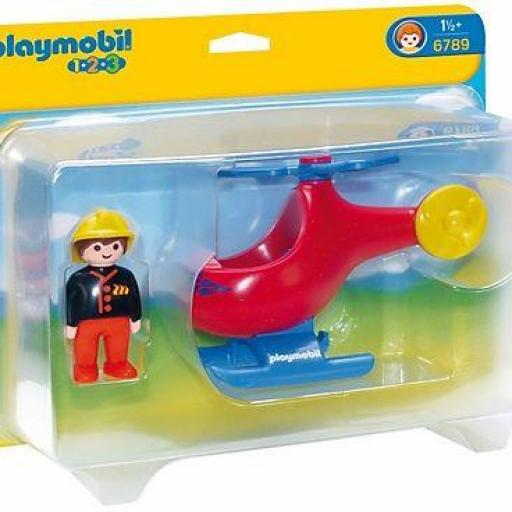 PLAYMOBIL 6789 HELICOPTERO DE RESCATE