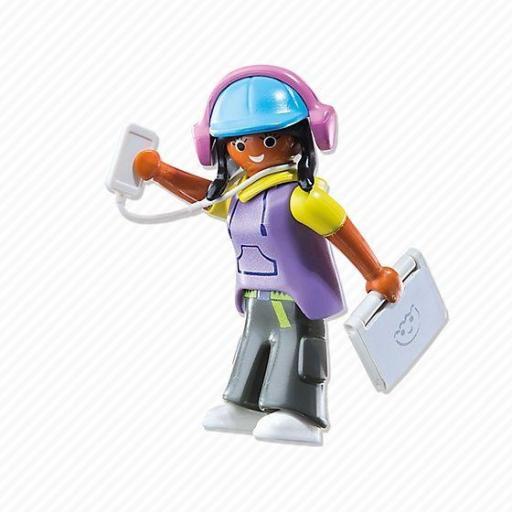 PLAYMOBIL 6828 CHICA MULTIMEDIA GIRL [1]