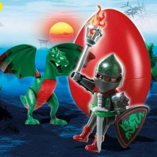 PLAYMOBIL 6836 CABALLERO DEL DRAGON