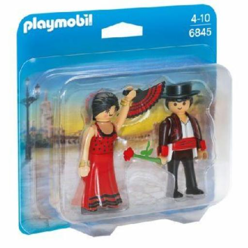 PLAYMOBIL 6845 DUO PACK BAILARINES FLAMENCOS