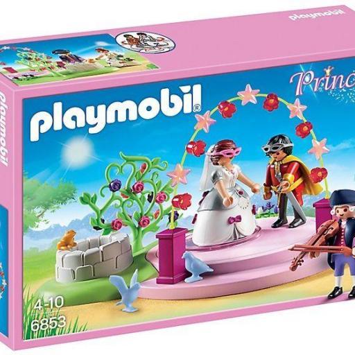 PLAYMOBIL 6853 BAILE DE MASCARAS