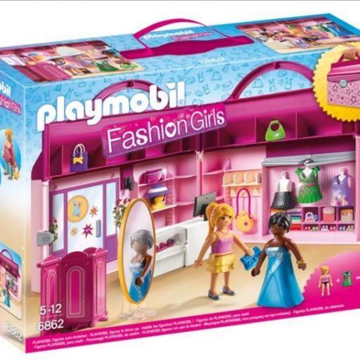 PLAYMOBIL 6862 Tienda de Moda Maletín