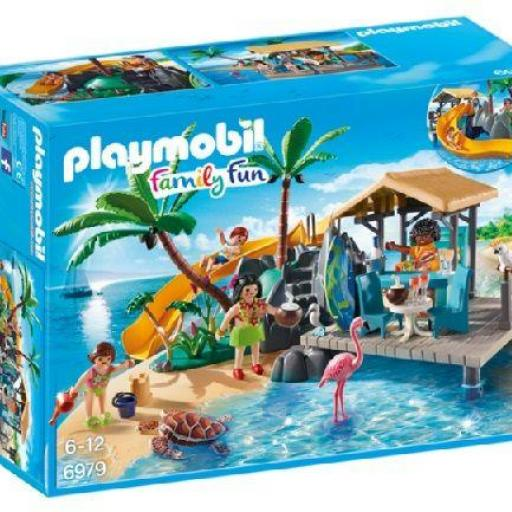 PLAYMOBIL 6979 ISLA RESORT