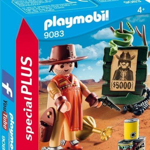 PLAYMOBIL 9083 ESPECIAL VAQUERO OESTE WESTERN CAZARRECOMPENSAS