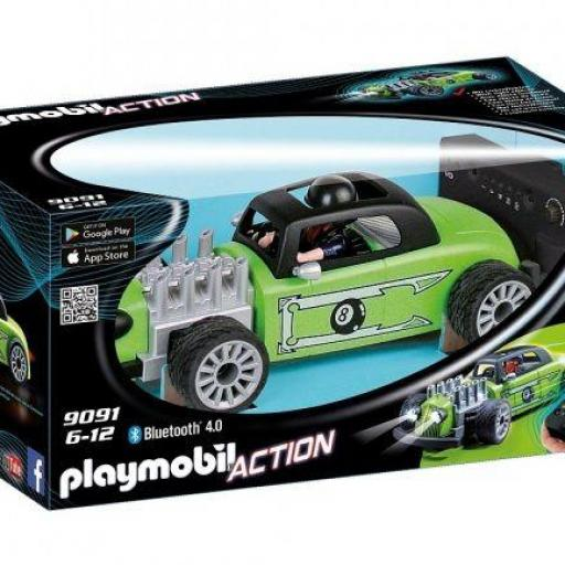 PLAYMOBIL 9091 RC Rock'n'Roll-Racer COCHE RADIOCONTROL