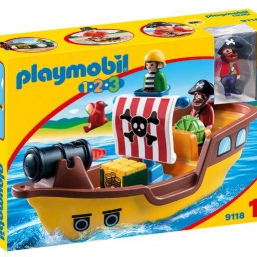 PLAYMOBIL 9118 BARCO PIRATA