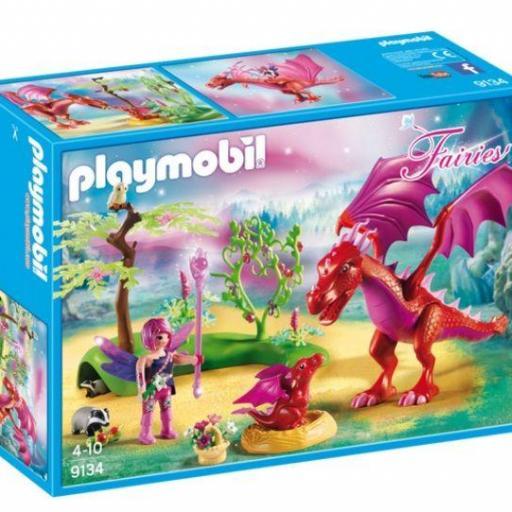 PLAYMOBIL 9134 DRAGON CON BEBE