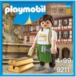 PLAYMOBIL 9211 Batidor de oro de Schwabach