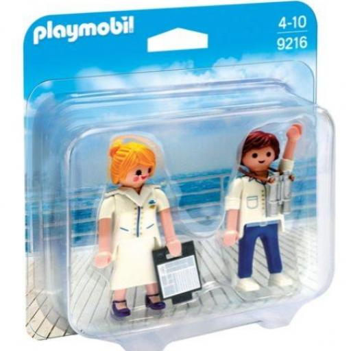 PLAYMOBIL 9216 DUO PACK CRUCERO