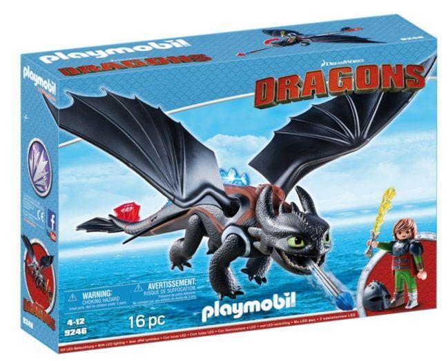 PLAYMOBIL 9246 HIPO Y DESDENTAO (DRAGONS)