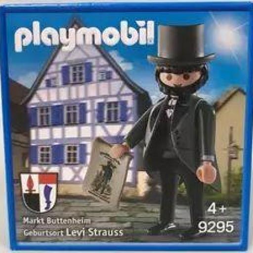 PLAYMOBIL 9295 LEVI STRAUSS FIGURA COMMEMORATIVA (2018)