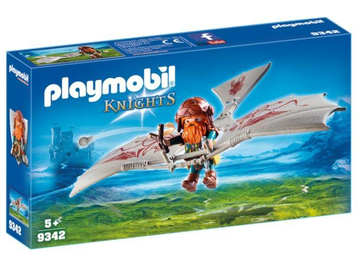 PLAYMOBIL 9342 AVION ENANOS
