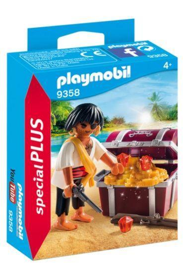 PLAYMOBIL 9358 ESPECIAL PLUS PIRATA CON TESORO