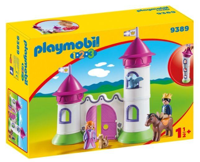 PLAYMOBIL 9389 CASTILLO CON TORRE APILABLE