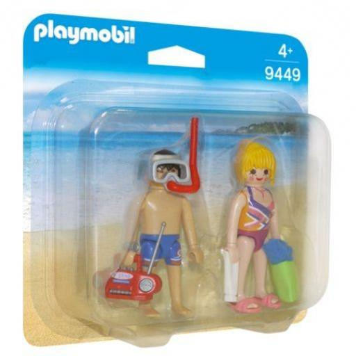 PLAYMOBIL 9449 DUO PACK VACACIONES EN LA PLAYA