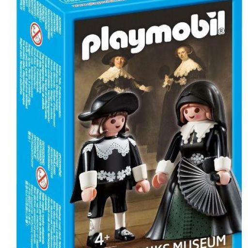 PLAYMOBIL 9483 PERSONAJES CUADRO RembrandtOopjen Soolmans