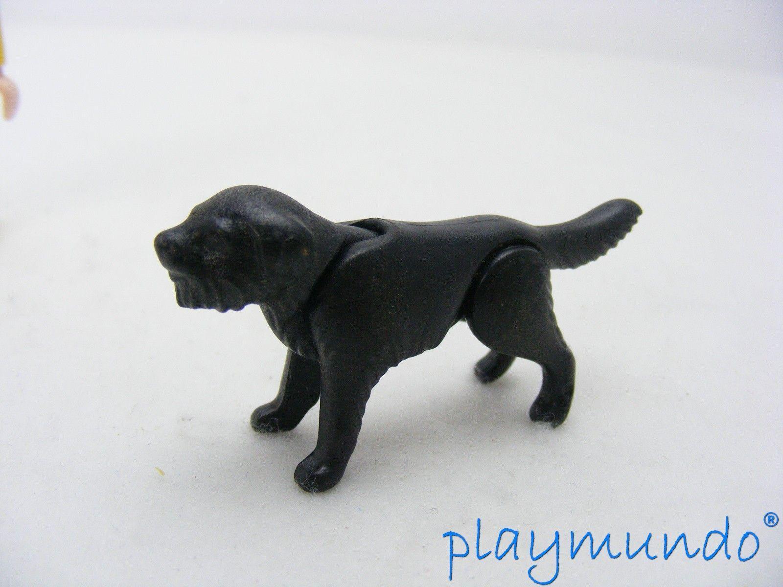 PLAYMOBIL ANIMALES PERRO NEGRO NG