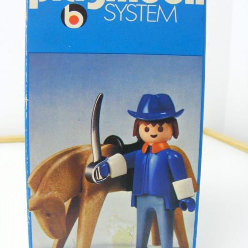 PLAYMOBIL CAPITAN OESTE WESTERN REF. 3353 (AÑO 1975) VERSION 1 [2]