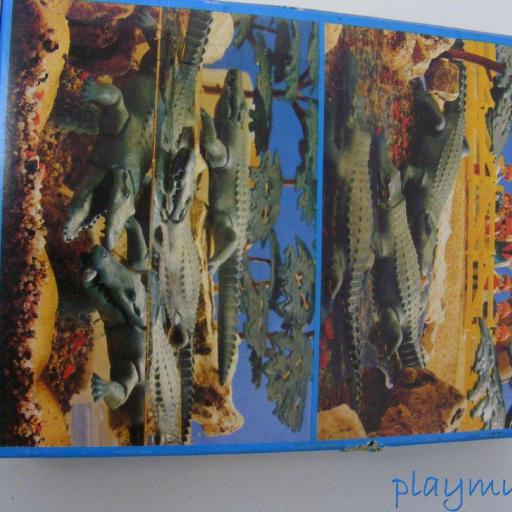 PLAYMOBIL COCODRILOS REF. 3541 (AÑO 1983) [1]