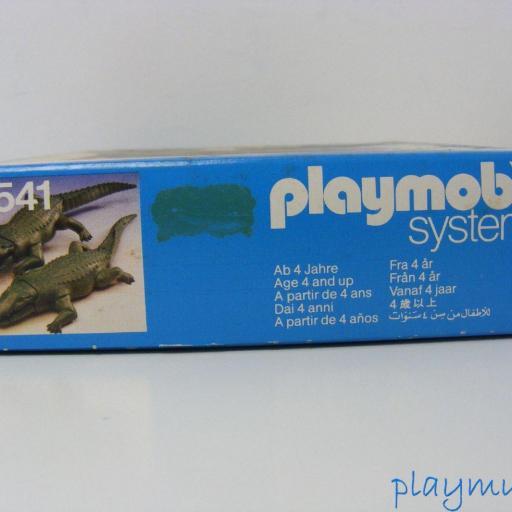 PLAYMOBIL COCODRILOS REF. 3541 (AÑO 1983) [2]