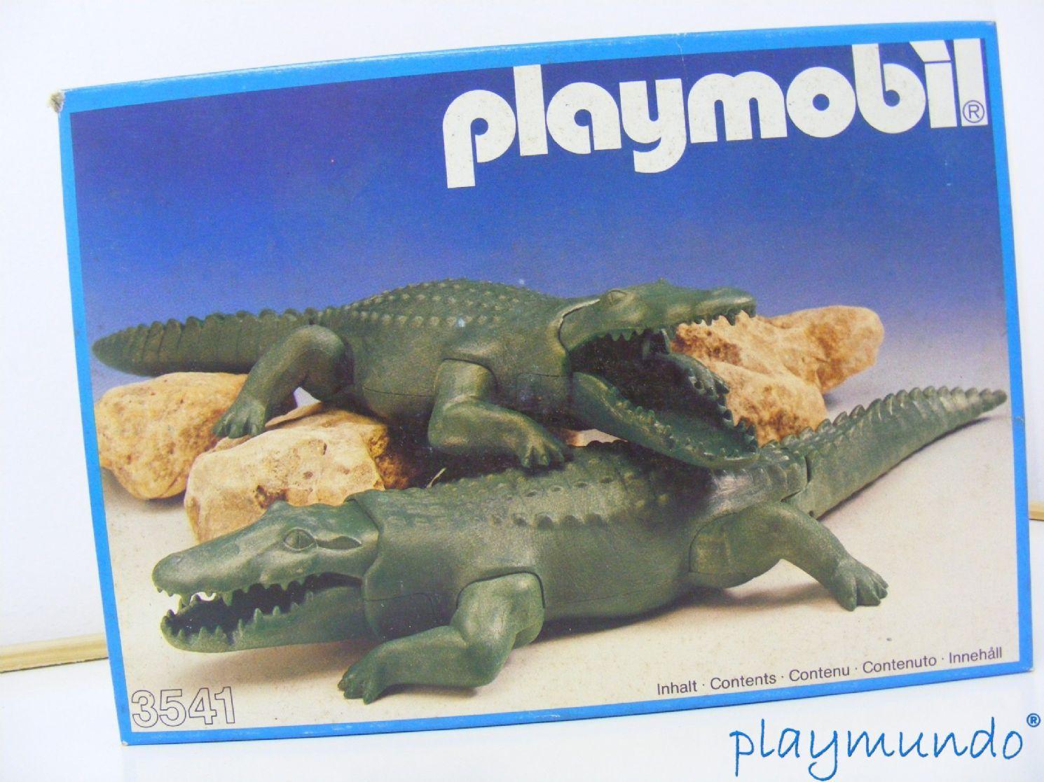 PLAYMOBIL COCODRILOS REF. 3541 (AÑO 1983)