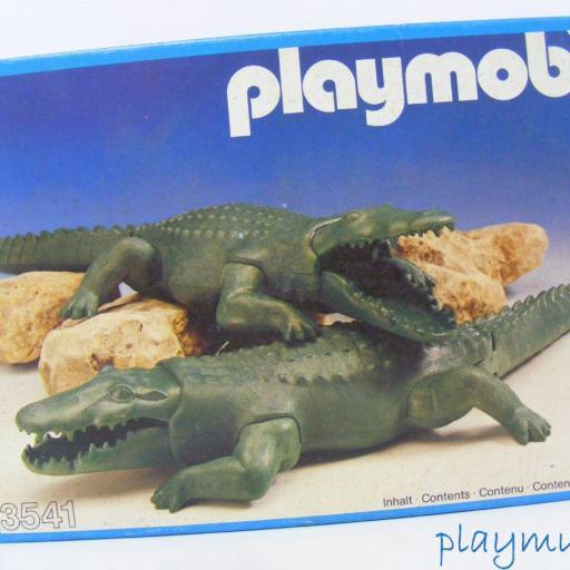 PLAYMOBIL COCODRILOS REF. 3541 (AÑO 1983) [0]