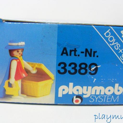 PLAYMOBIL DAMA OESTE VICTORIANA CIUDAD REF. 3389 (AÑO 1978) [3]