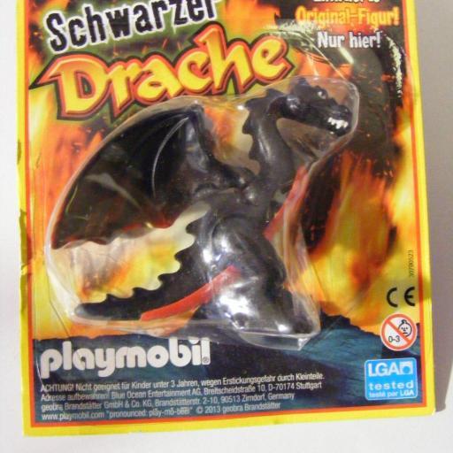 PLAYMOBIL DRAGON , EDICION DE LA REVISTA ALEMANA PLAYMOBIL