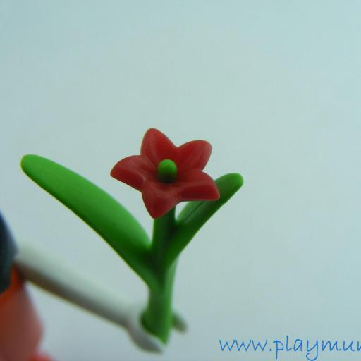 PLAYMOBIL FLOR ROJA TALLO LARGO [1]