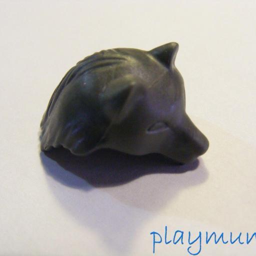 PLAYMOBIL GORRO LOBO GRIS PY6732