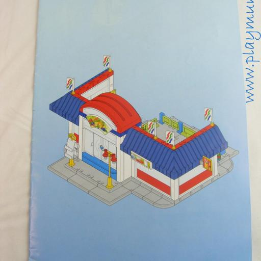 PLAYMOBIL MANUAL SUPERMERCADO REF. 3200