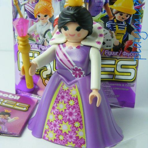 PLAYMOBIL SERIE 10 CHICAS PRINCESA