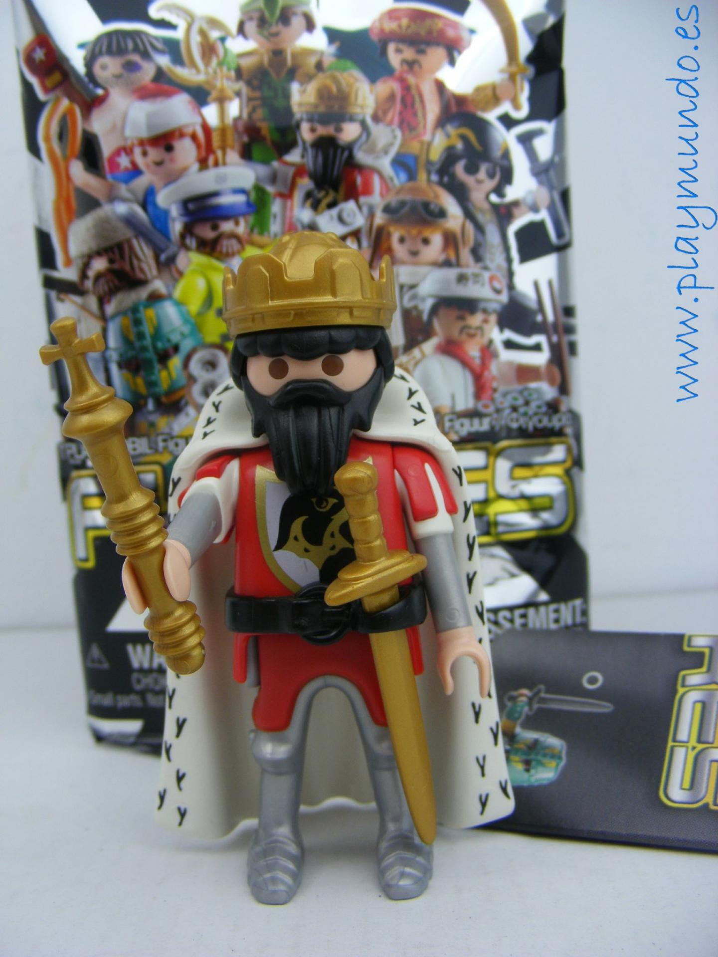 PLAYMOBIL SERIE 13 CHICOS REY MEDIEVAL DEL AGUILA