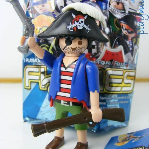 PLAYMOBIL SERIE 8 FIGURES CHICOS PIRATA