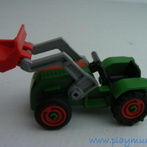 PLAYMOBIL TRACTOR CON PALA INFANTIL