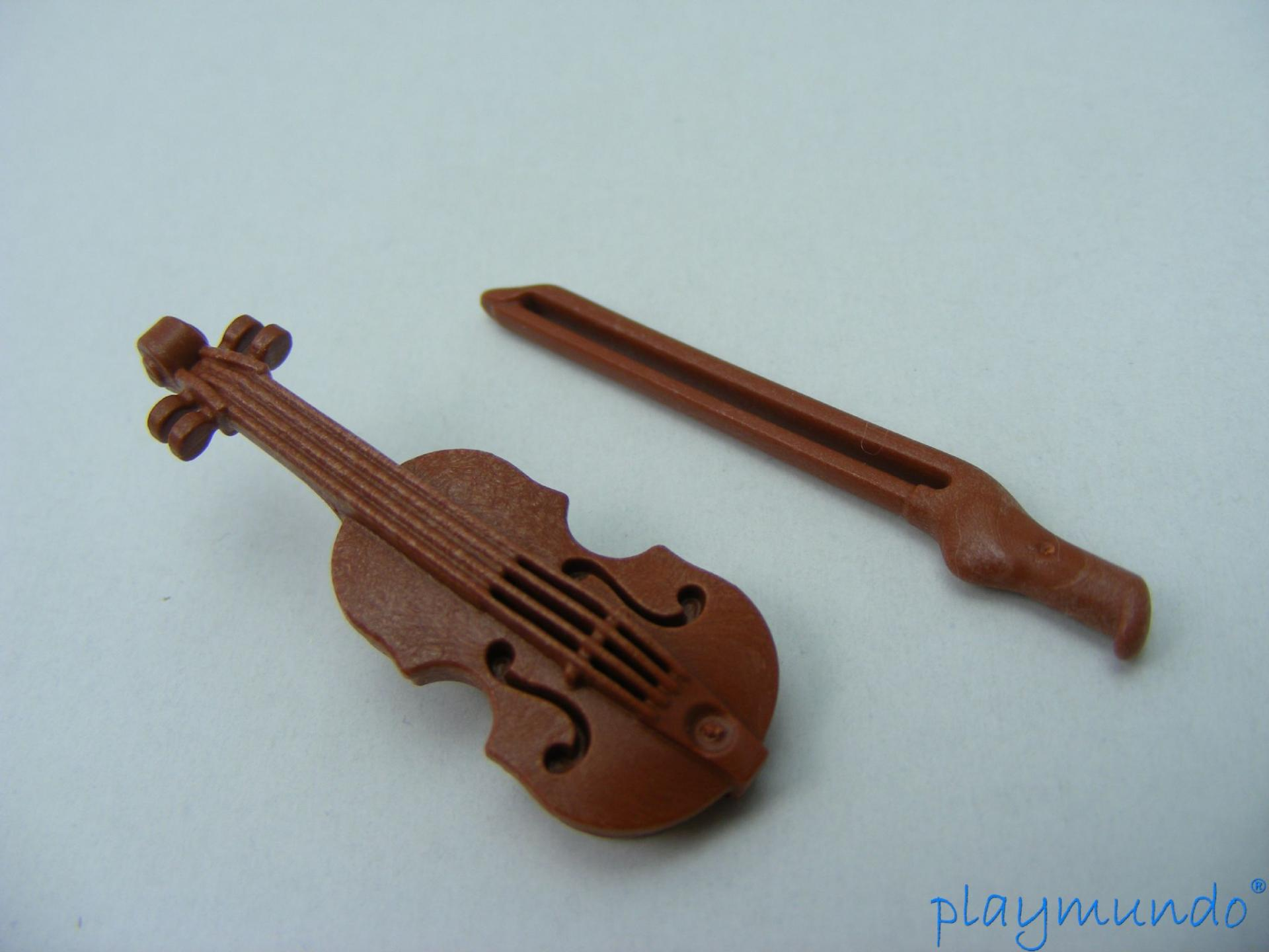 PLAYMOBIL VIOLIN INSTRUMENTOS MUSICALES