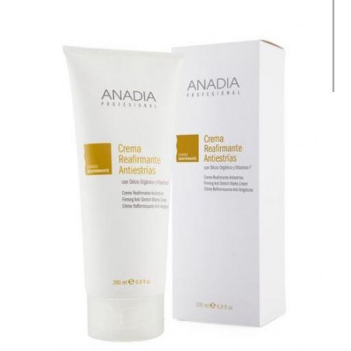 Crema reafirmante antiestrías 200ml Anadia