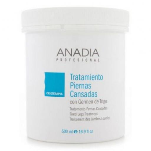 Crema tratamiento piernas cansadas 500ml Anadia