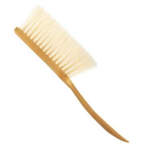 Cepillo barbero mango plástico