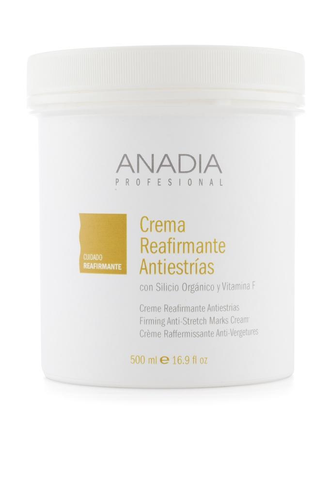Crema reafirmante antiestrías 500ml Anadia