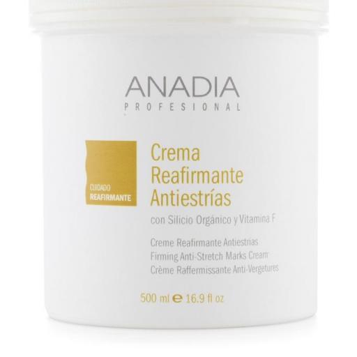 Crema reafirmante antiestrías 500ml Anadia [0]