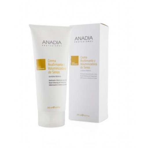 Crema reafirmante y voluminizadora de senos 200ml Anadia