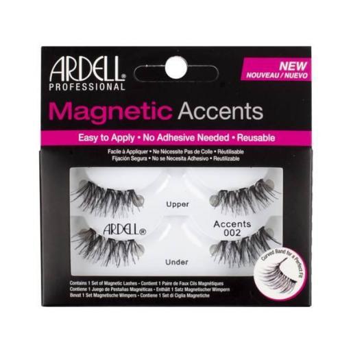 Pestañas magnéticas ACCENTS 002