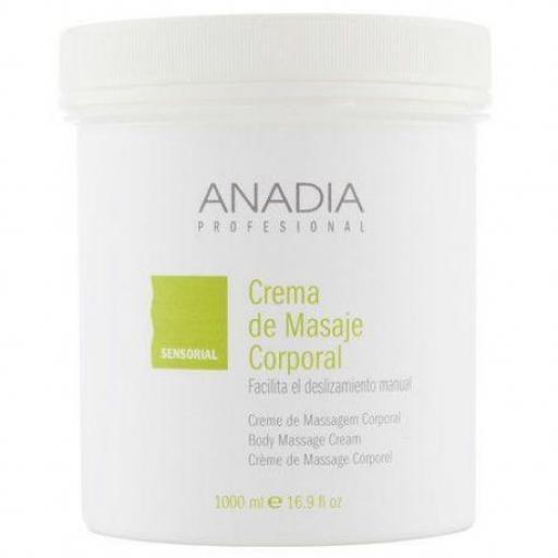 Crema de masaje corporal 1000ml Anadia