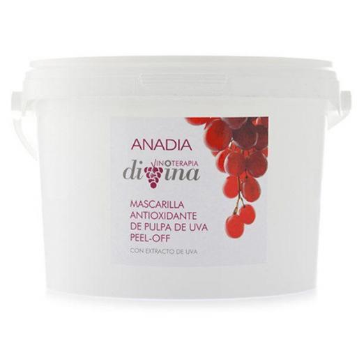 Mascarilla antioxidante de pulpa de uva peel off 1000g Anadia